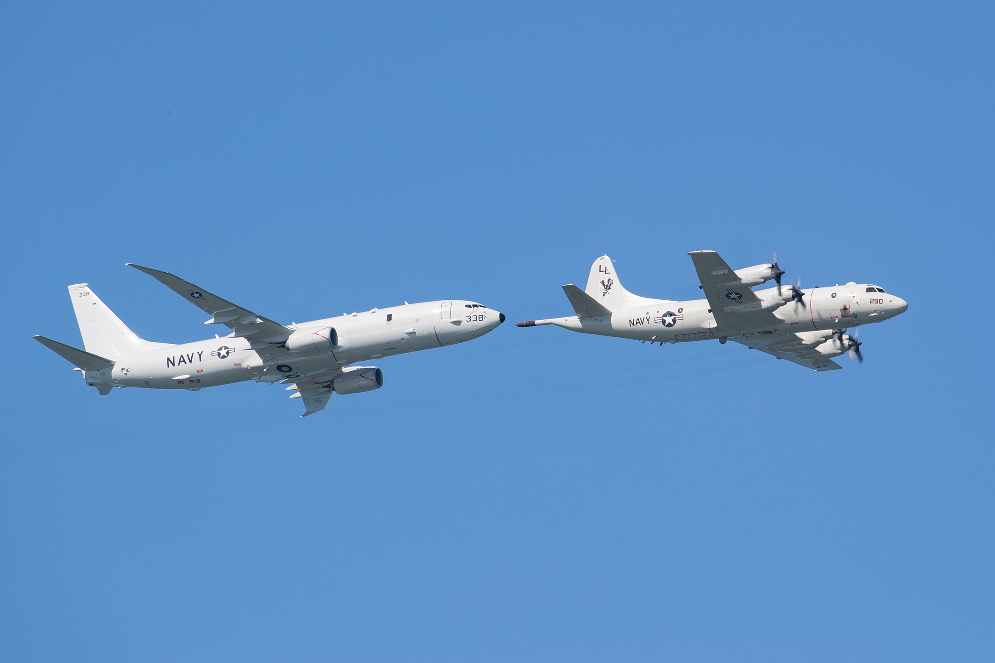 P-8 and P-3 Demonstration